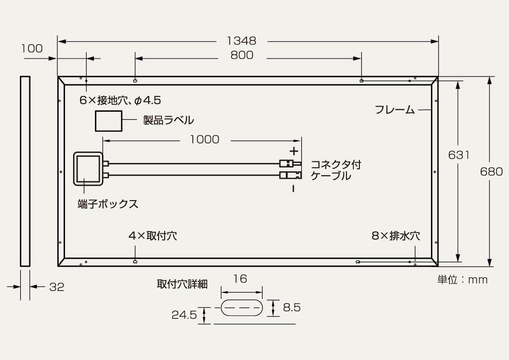 太陽電池モジュール Q.PLUS XS-G4.1